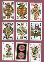 Collectible Beers Advertising playing cards. Brouwers Beer.